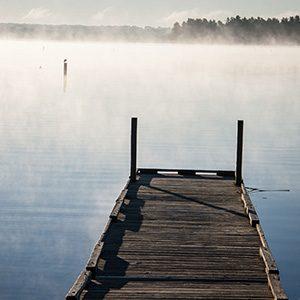 a dock on Lewis Smith Lake
